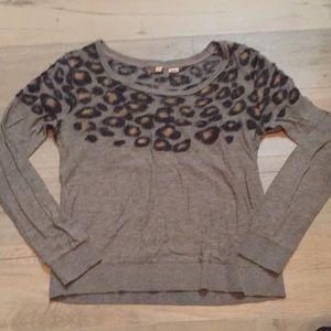 Moth leopard sweater